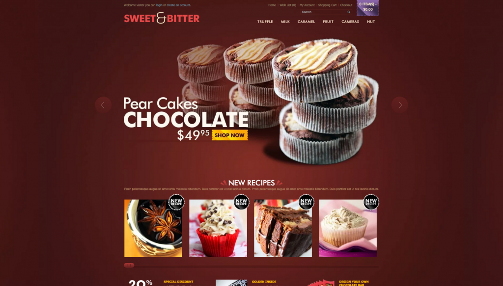 Bossthemes Chocolate Opencart Theme