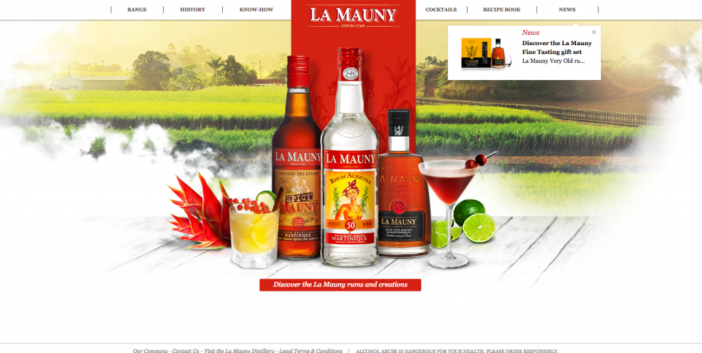 La Mauny Web Design